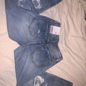 Boyfriend washed jeans